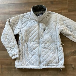 Vintage Columbia quilted light winter jacket